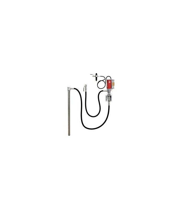 E80 5:1 Pump 200l fat & rörmontage