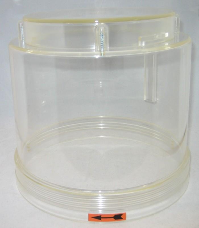 Plastbehållare 4XN/YN till pump Lincoln P203
