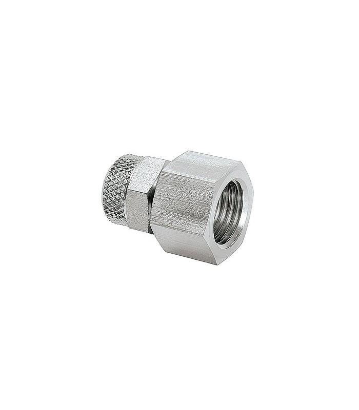 """Anslutning G1/4"""" Inv. rör 8/6mm (Rostfri 1.4571)"""