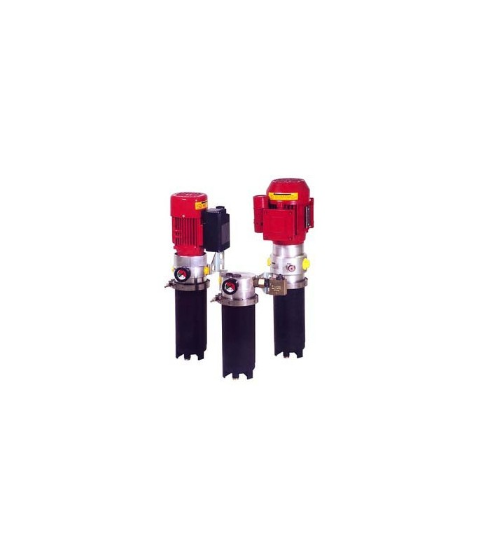 Filteraggregat OLF 5/4 3-fas ink. elektronisk filtervakt