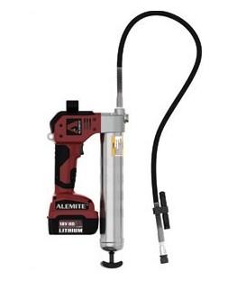 Alemite batteridriven smörjspruta 18V Li-Ion, 2 batt.